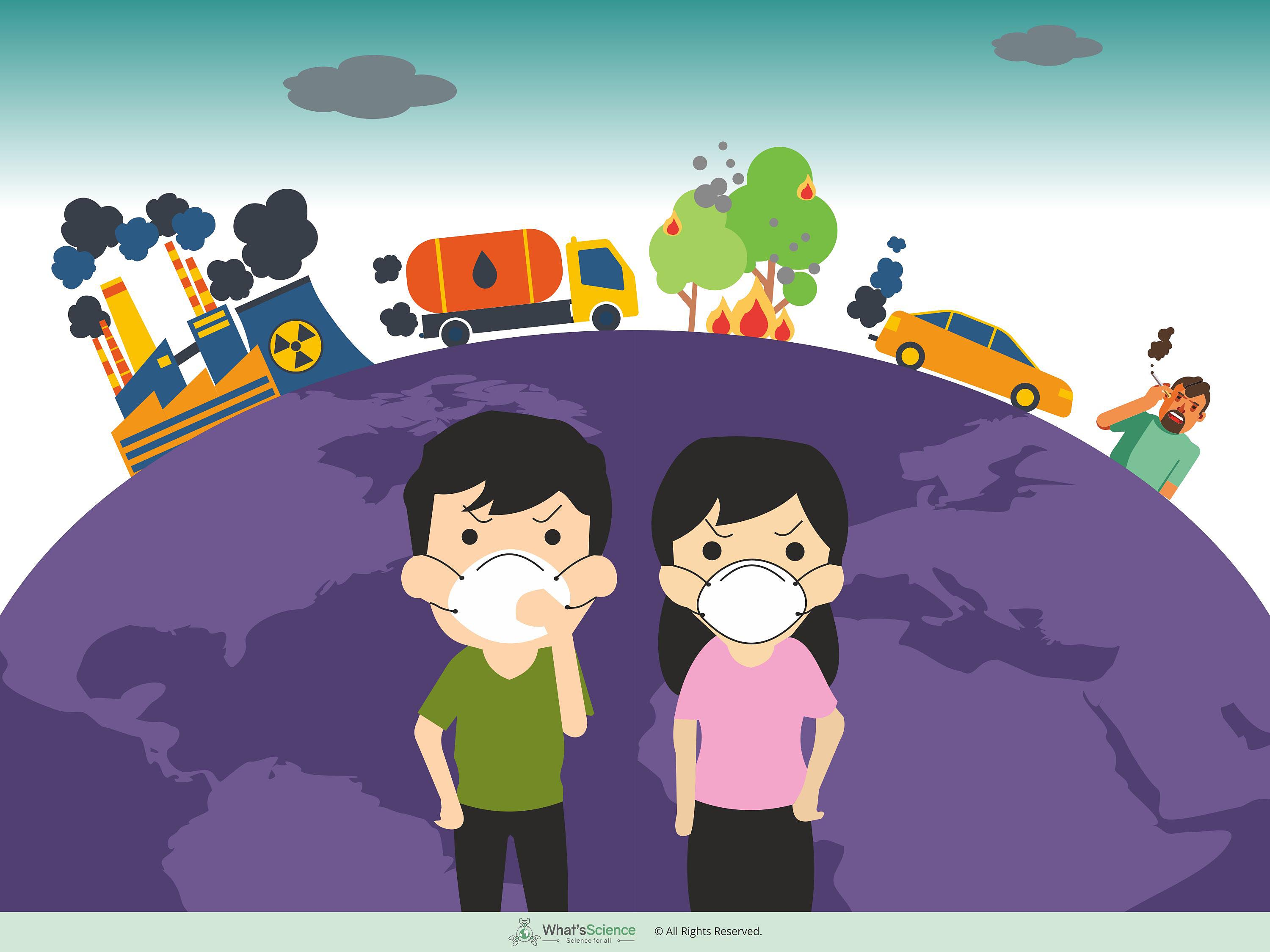 Climate change and pollution affects health